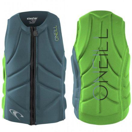 Gilet Oneill Slasher Comp Vest dustyblu Dayglo