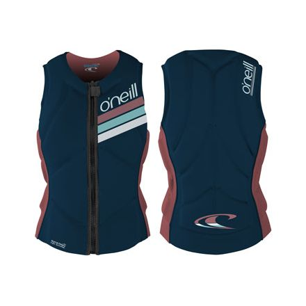 Gilet Oneill Women Slasher Comp slate rose