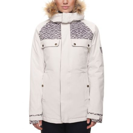686 Dream Insulated Jacket White Weave