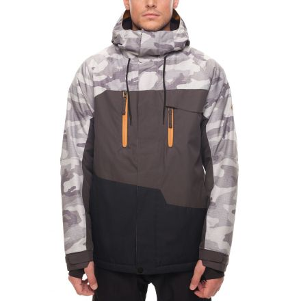 686 Geo Insulated Jacket Grey Camo