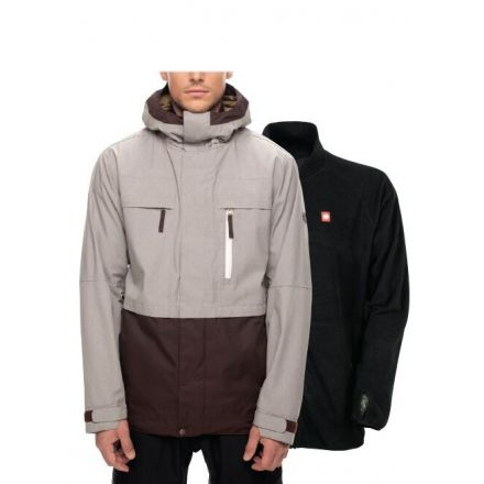 686 Smarty Form Jacket Grey