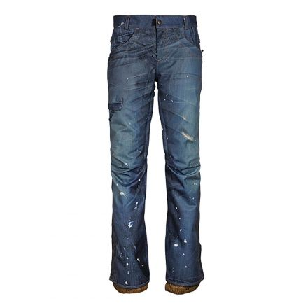 686 Deconstructed Denim Insulated Pant WMS Indigo