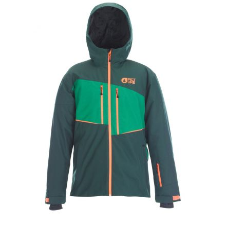 Picture Object Jacket / Dark Green