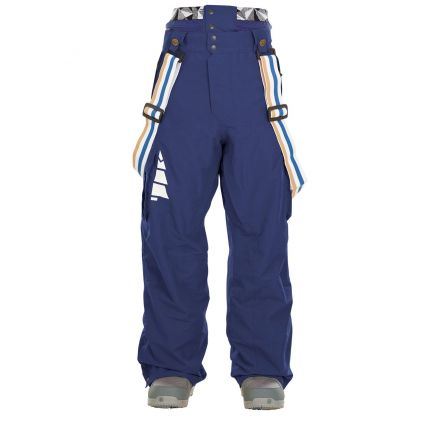 Picture Panel Pant Dark Blue