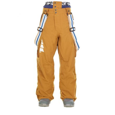 Picture Panel Pant Camel