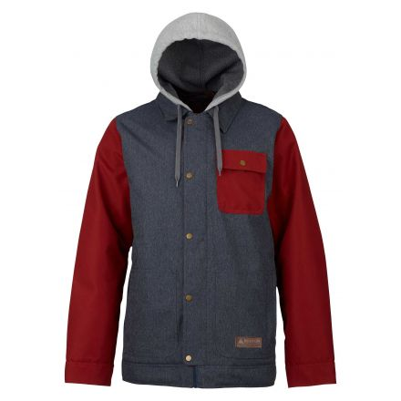 Burton Dunmore Jacket Denim Fired Brick