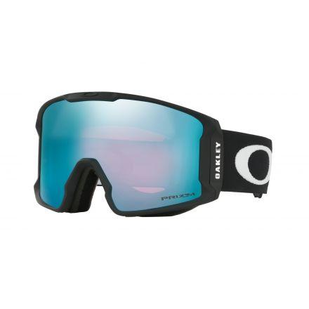 Masque de snow Oakley Line Miner Black Prizm Saphire Iridium
