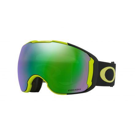 Masque de snow Oakley Airbrake Citrus Black Prizm Jade Iridium