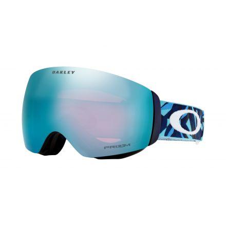 Masque de snow Oakley Flight Deck Saphire Prizm Saphirir Iridium