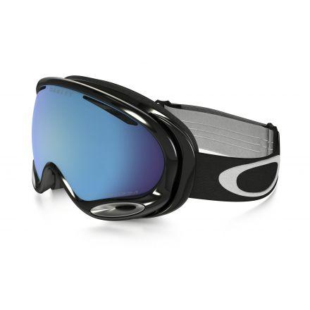 Masque de snow Oakley A Frane 2.0 Jet Black Prizm Saphire Iridium