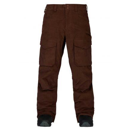 Burton Hellbrook Pant Chestnut Cord