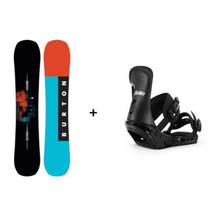 Pack snowboard Burton Instigator 2018 + Fixation Infidel