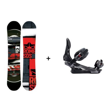 Pack Snowboard Rome Mechanic + Fixation Arsenal