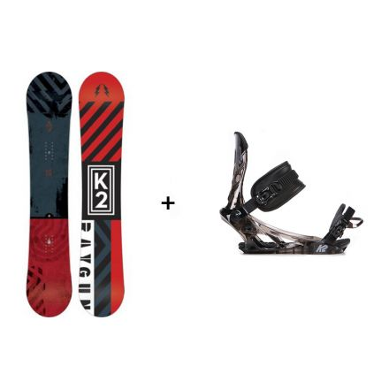 Pack Snowboard K2 Raygun 2017 + Fixation Sonic