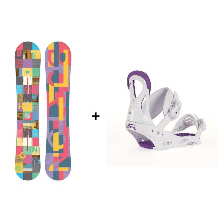 Pack Snowboard Feather 2017 + Fixation Stiletto
