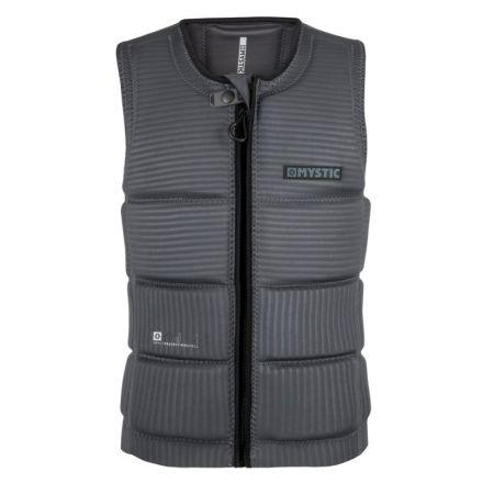 Mystic Majestic Impact Vest Front Zip Wake Grey