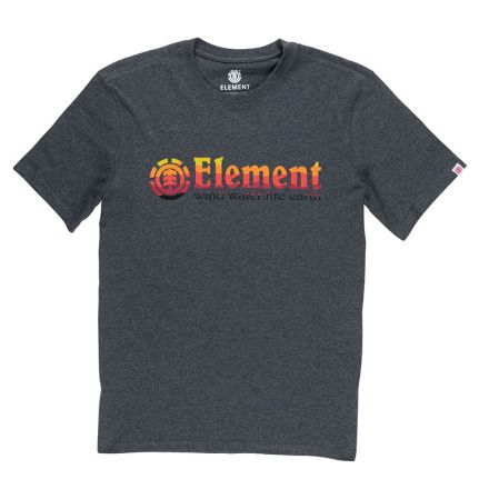 Element T-shirt Horizontal Fill Charcoal
