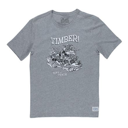 Element T-shirt Woody Grey