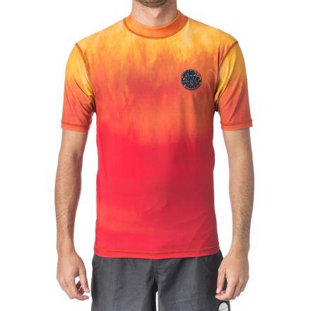 Rip Curl Corpo Faded S/SL UV Tee Orange