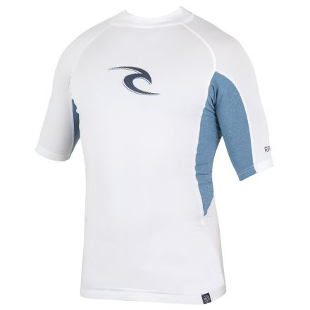 Rip Curl Wave S/SL UV Tee White