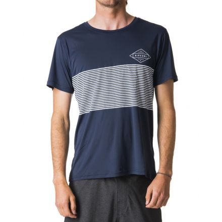 Rip Curl Linear Surflite UV Tee Navy