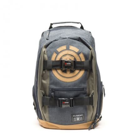Mohave Backpack Charcoal Heather Moss Green