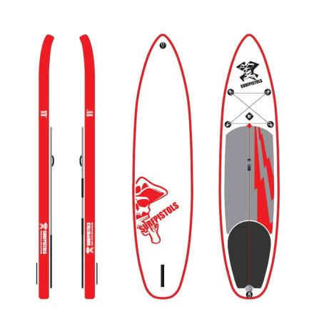 SUP Gonflable Surfpistols Isup 11'