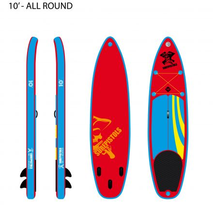 SUP Gonflable Surfpistols Isup 10'