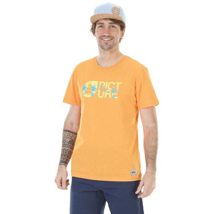 Picture T-shirt Basement Palm Duck Orange