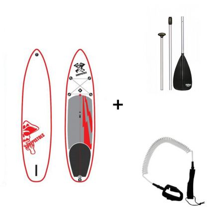 Pack SUP Gonflable Surfpistols Isup 11' + Pagaie + Leash