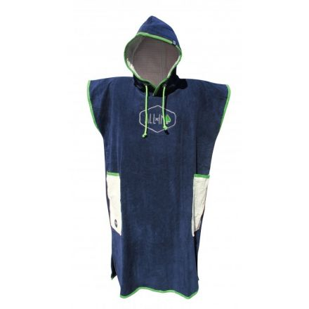 Poncho All-In Classic Bumpy Line Navy