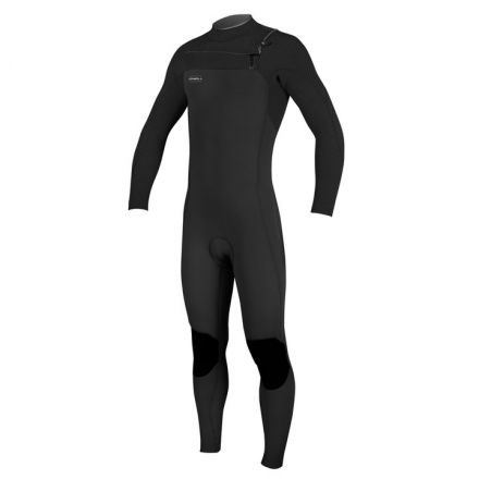 O'neill Hyperfreak Fuze 4/3 Chest Zip Full Black