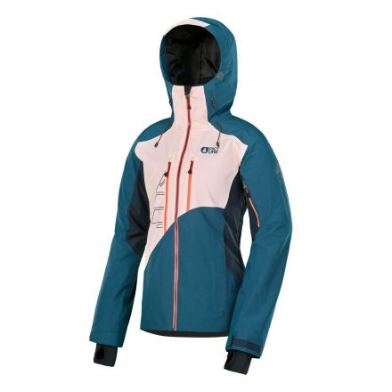 Picture Seen Jacket Petrol Blue