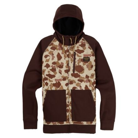 Burton Crown Bonded Full Zip Deduck