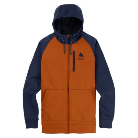 Burton Crown Bonded Full Zip Adobe Modigo