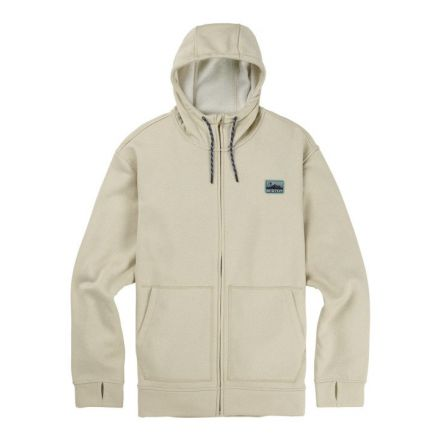 Burton OAK Full Zip Pelican Heather