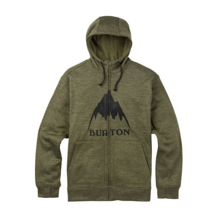 Burton OAK Full Zip Trellis Heather
