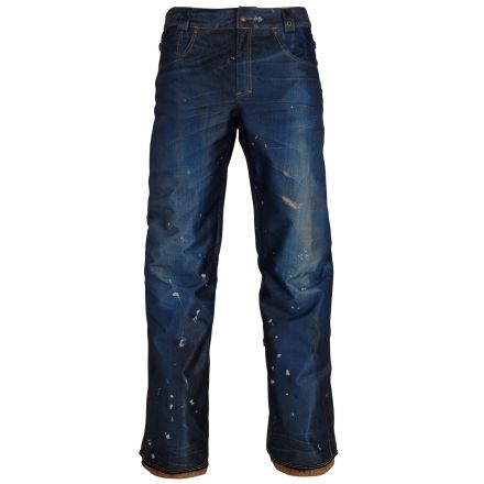 686 Deconstructed Denim Insulated Pant Dark Denim