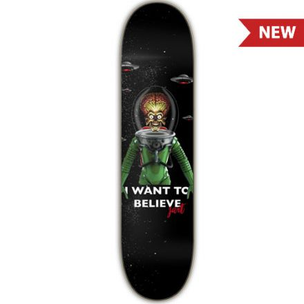 Jart Deck I Want To Believe 8.0'