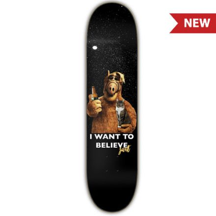 Jart Deck I Want To Believe 8.25'