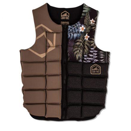 Liquid Force Vest Impact Flex Comp Tropical