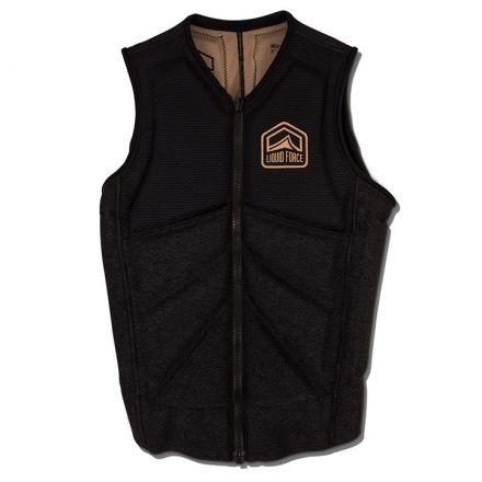 Liquid Force Vest Impact Z-Cardigan Comp Black