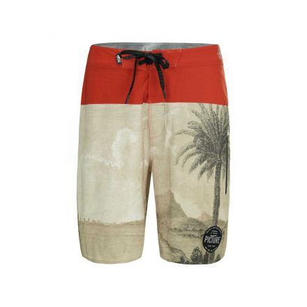 Picture Boardshort Code 19 Palmtree