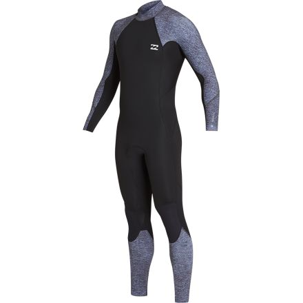 Billabong Absolute BZ Full Suit Flatlock Grey