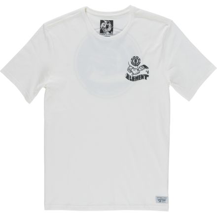 Element T-Shirt Painted Off White