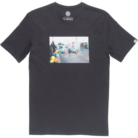 Element T-SHirt Branch Off Black