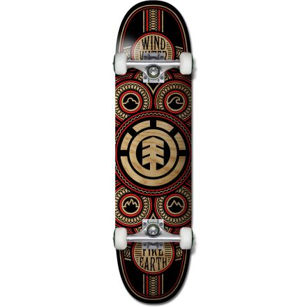 Element Skateboard Complete Engrained 8'
