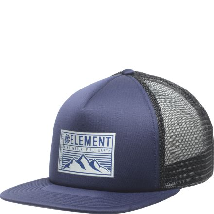 Element Camp Trucker Cap Indigo