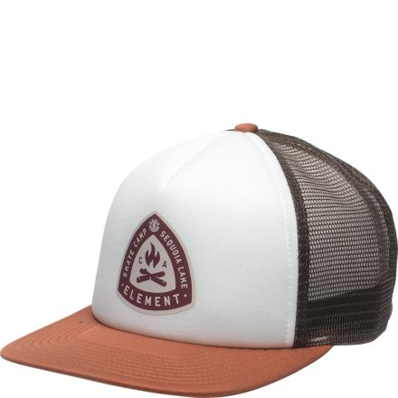 Element Camp Trucker Cap Ginger