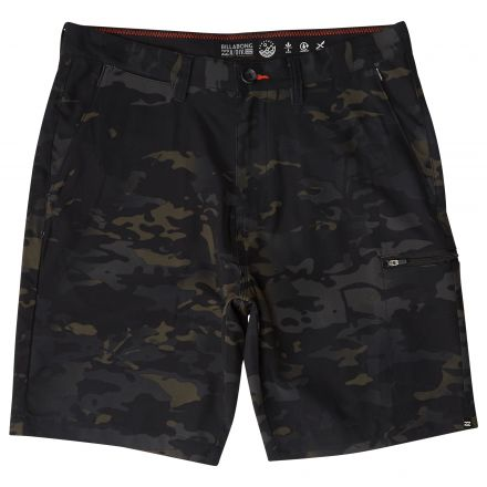 Billabong Boarshort Surftrek Multicam CA Black